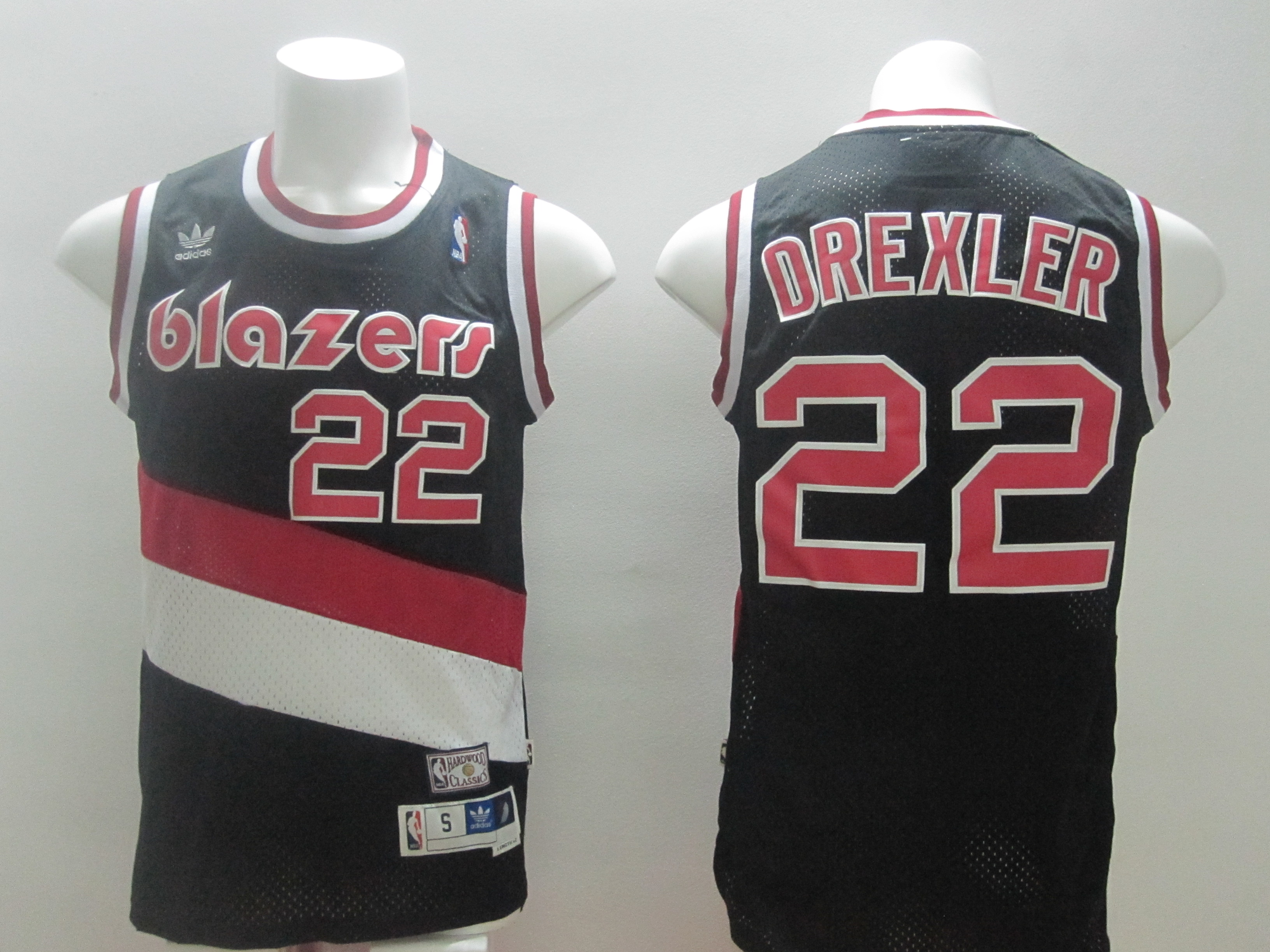 2014 NBA Portland Trail Blazers 22 Drexler black Swingman jerseys