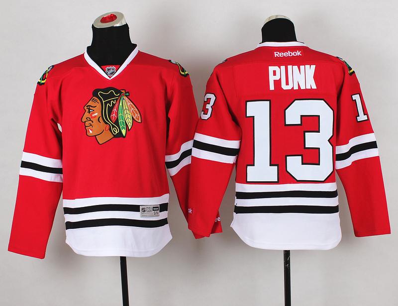 Youth NHL Chicago Blackhawks 13 Punk Red Jerseys