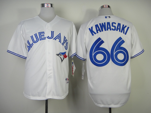 Toronto Blue Jays #66 Kawasaki White Moving player Jersey