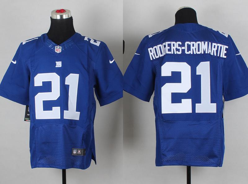 New York Giants 21 Dominique Rodgers-Cromartie Royal Blue Elite Jersey