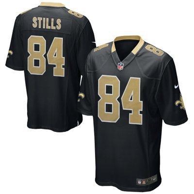 New Orleans Saints 84 Stills Black 2014 Nike NFL Elite Jerseys
