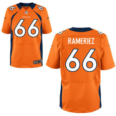 Denver Broncos 66 Ramirez Orange 2014 Nike NFL Elite Jerseys