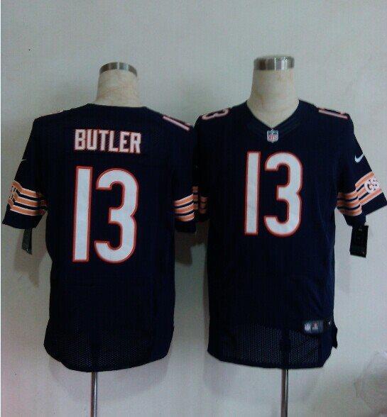 Nike NFL Chicago Bears 13 Butler blue elite jerseys