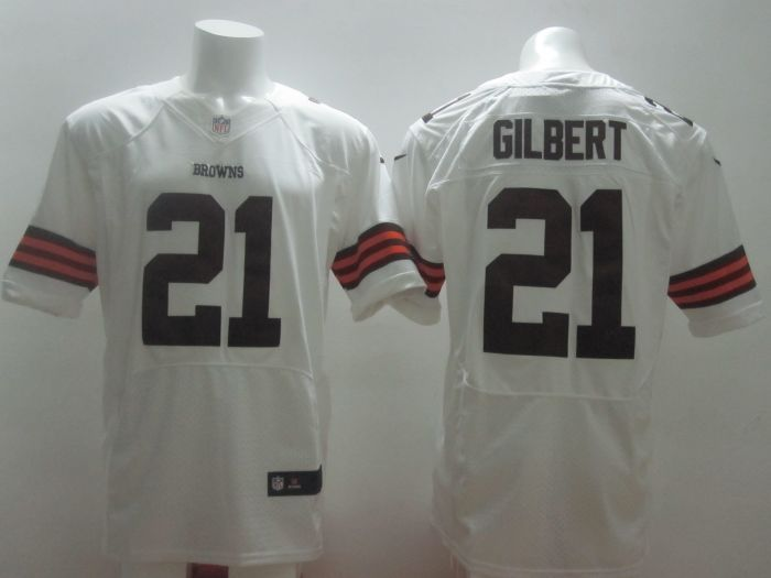 Cleveland Browns 21 Gilbert white 2014 Nike NFL Elite Jerseys