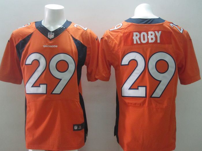 2014 Nike NFL Denver Broncos 29 Roby orange Elite jerseys