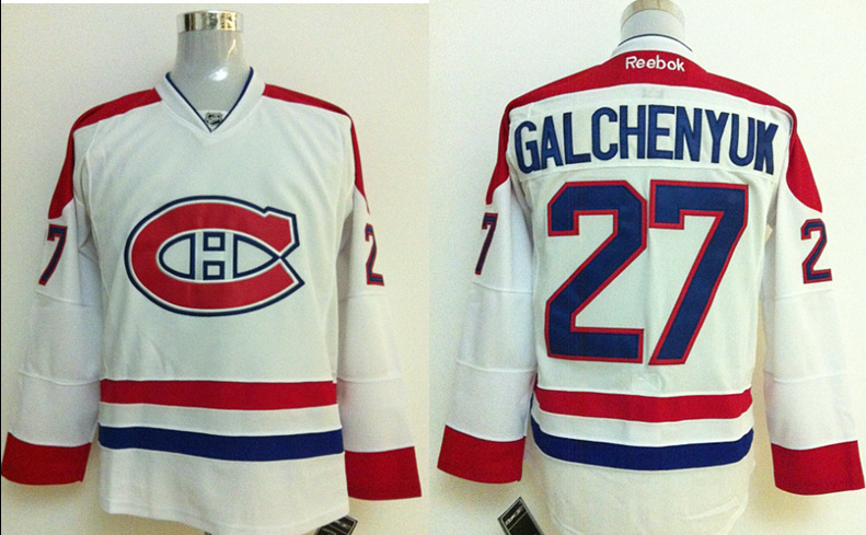 NHL Jerseys Montreal Canadiens #27 GALCHENYUK white Jersey