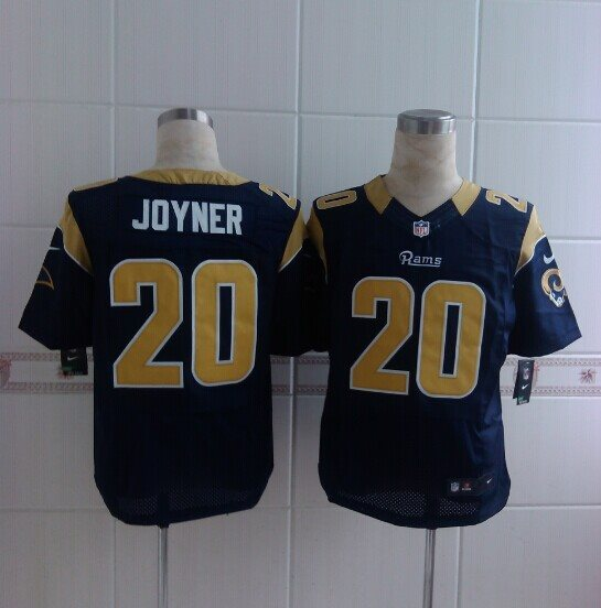 2014 Nike NFL St. Louis Rams 20 Joyner blue Elite Jerseys