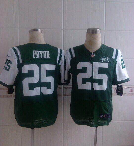New York Jets 25 Pryor green 2014 Nike NFL Elite Jerseys