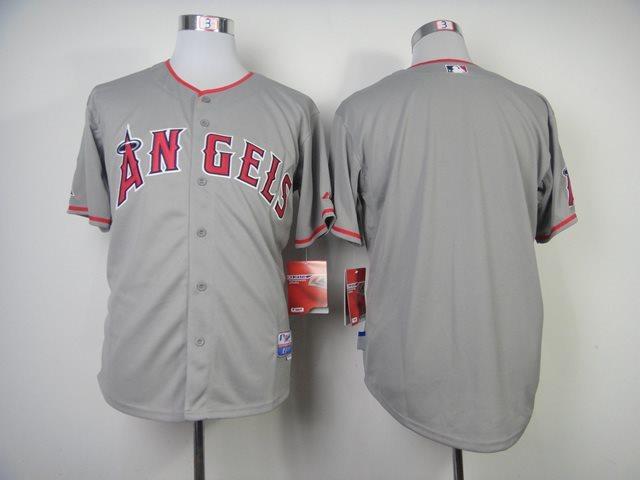 MLB Los Angeles Angels blank grey jerseys