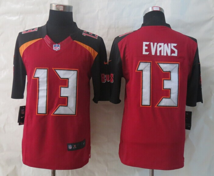 Tampa Bay Buccaneers 13 Evans Red 2014 New Nike Limited Jerseys