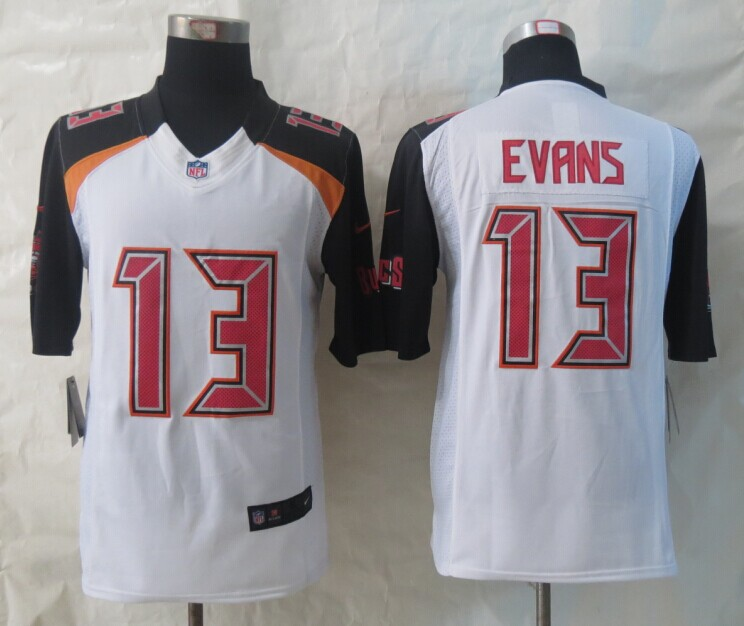 Tampa Bay Buccaneers 13 Evans White 2014 New Nike Limited Jerseys