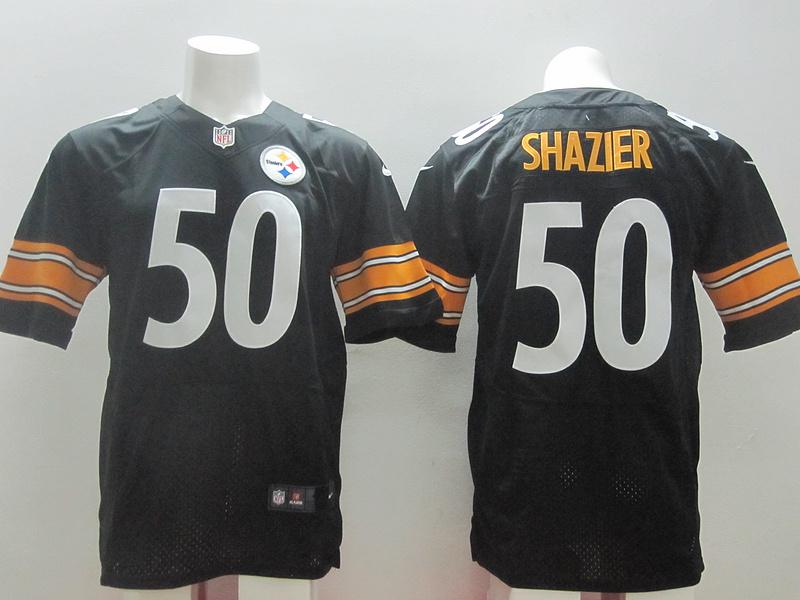 Pittsburgh Steelers 50 Shazier Black 2014 New Nike Elite Jerseys