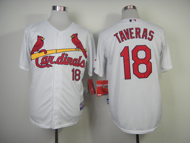 MLB St. Louis Cardinals 18 Taveras White 2014 Jerseys