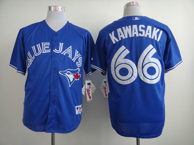 MLB Toronto Blue Jays 66 Munenori Kawasaki Blue 2014 Jerseys