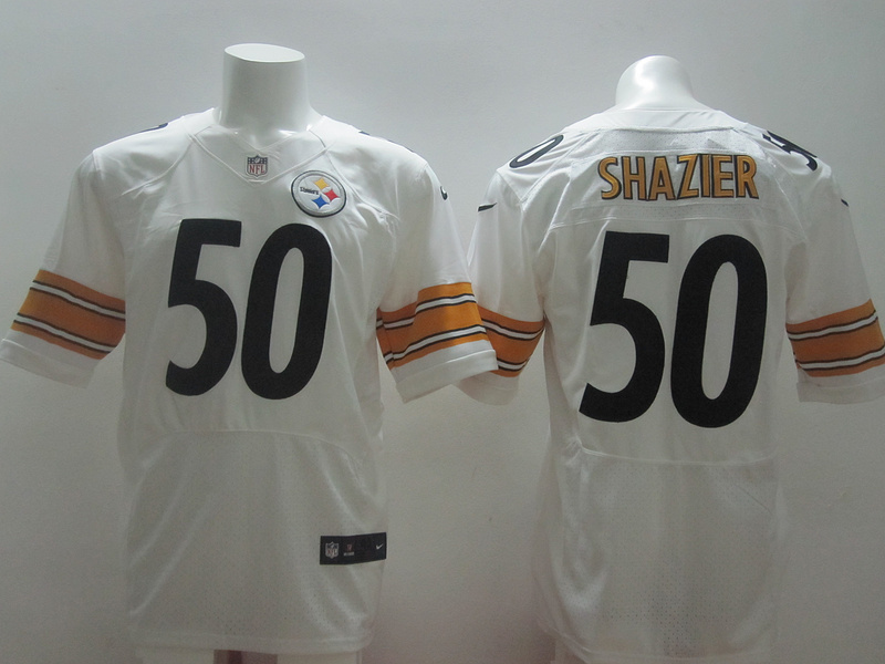Pittsburgh Steelers 50 Shazier White 2014 Nike Elite Jerseys