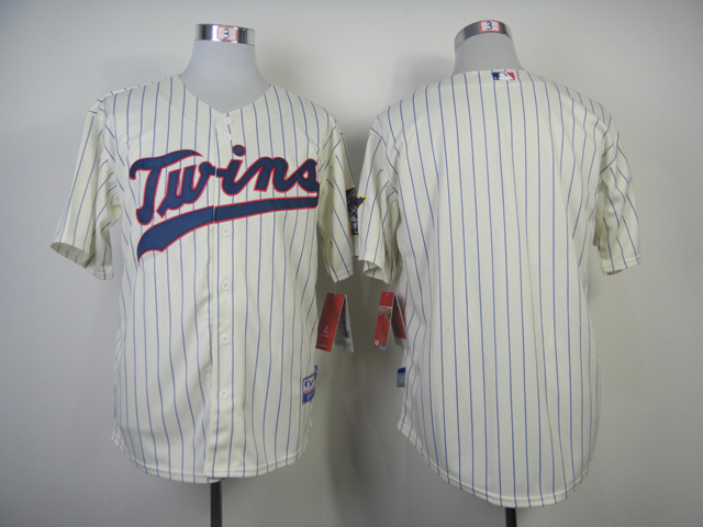 MLB Minnesota Twins Blank Gream 2014 Jerseys