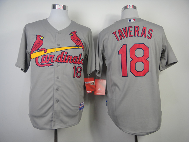 MLB St. Louis Cardinals 18 Taveras Grey 2014 Jerseys