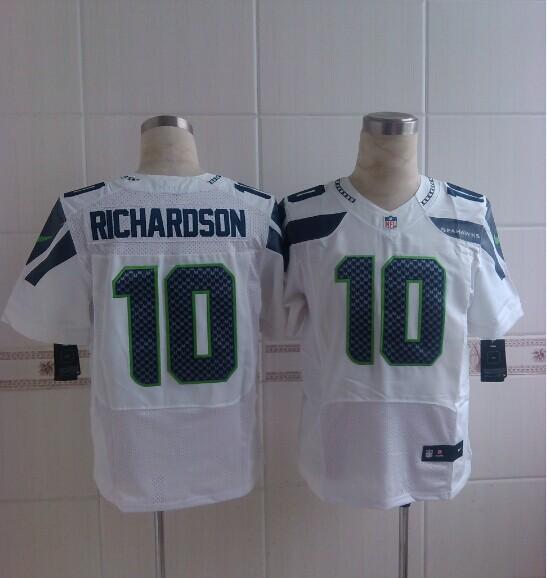 Seattle Seahawks 10 Richardson White 2014 Nike Elite Jerseys