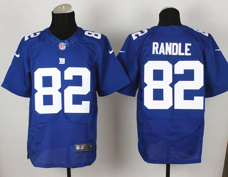 New York Giants 82 Randle Blue 2014 Nike Elite Jerseys