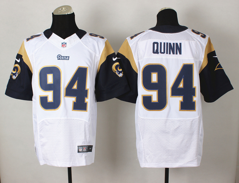 St. Louis Rams 94 Robert Quinn White 2014 Nike Elite Jerseys