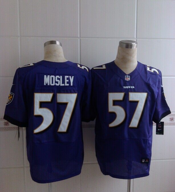 Baltimore Ravens 57 Mosley Purple 2014 Nike Elite Jerseys