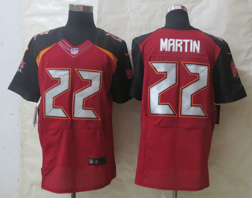 Tampa Bay Buccaneers 22 Martin Red New Nike Elite Jerseys