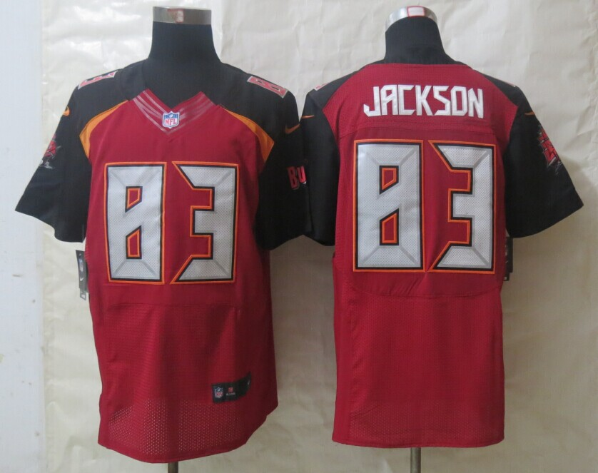Tampa Bay Buccaneers 83 Jackson Red New Nike Elite Jerseys