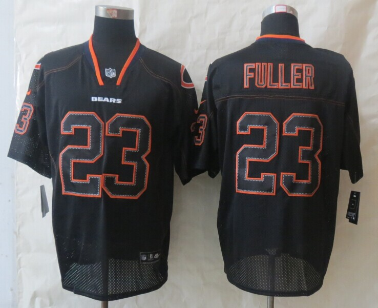 Chicago Bears 23 Fuller New Nike Lights Out Black Elite Jerseys
