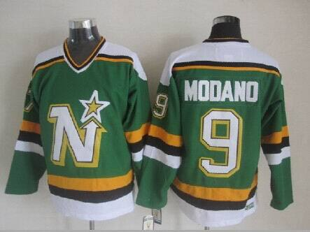 Dallas Stars 9 Mike Modano Green 2014 jerseys
