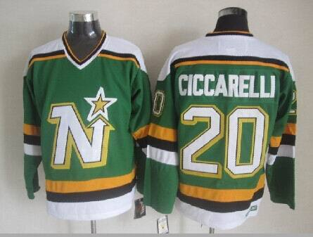 Dallas Stars 20 ciccarelli green 2014 jerseys