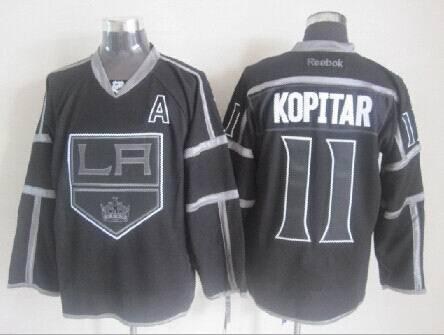 NHL Los Angeles Kings 11 Kopitar Black Jerseys