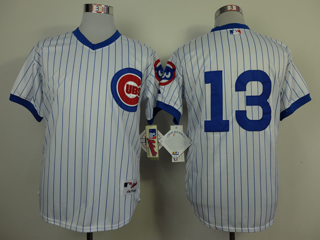 Chicago Cubs 13 Starlin Castro white Road 1994 Turn Back The Clock Jersey