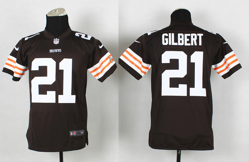 Youth Cleveland Browns 21 Justin Gilbert brown 2014 Nike Jerseys