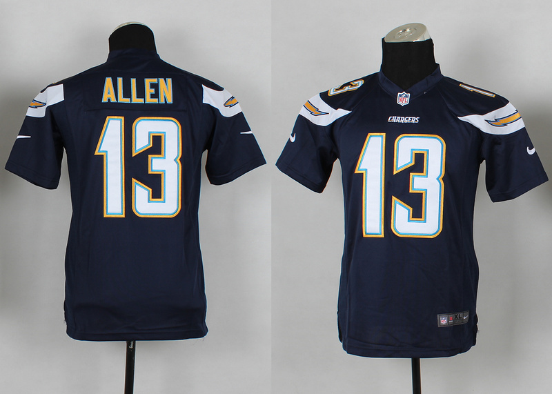 Youth San Diego Charge 13 Keenan Allen Blue 2014 Nike Jerseys
