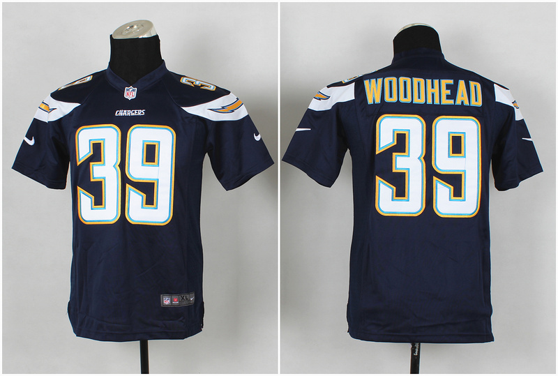 Youth San Diego Chargers 39 wooohead Black 2014 Nike Jerseys