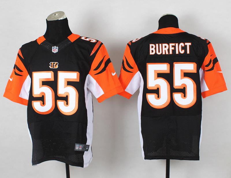 Cincinnati Bengals 55 Vontaze Burfict Black 2014 Nike Elite Jerseys