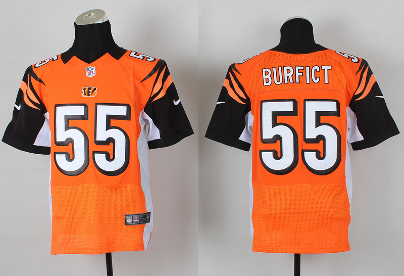 Cincinnati Bengals 55 Vontaze Burfict Orange 2014 Nike Elite Jerseys
