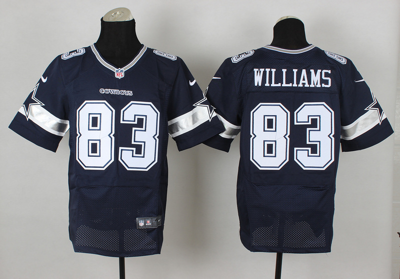 Dallas Cowboys 83 Terrence Williams Blue 2014 Nike Elite Jerseys