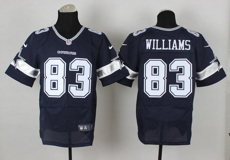 Dallas Cowboys 83 Terrence Williams Blue 2014 Nike Elite Jerseys