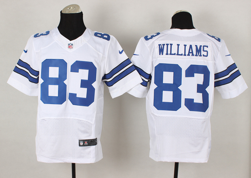 Dallas Cowboys 83 Terrence Williams White 2014 Nike Elite Jerseys