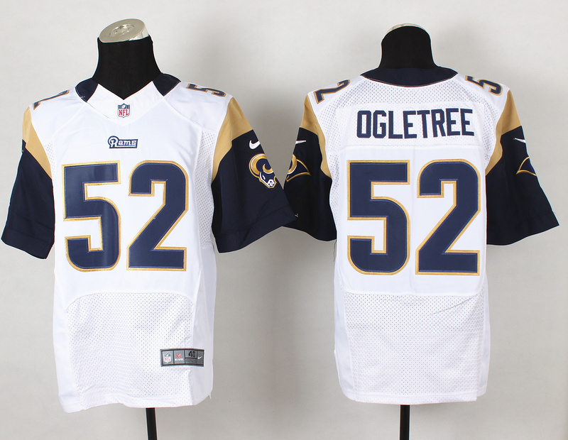 St.Louis Rams 52 Alec Ogletree White 2014 Nike Elite Jerseys