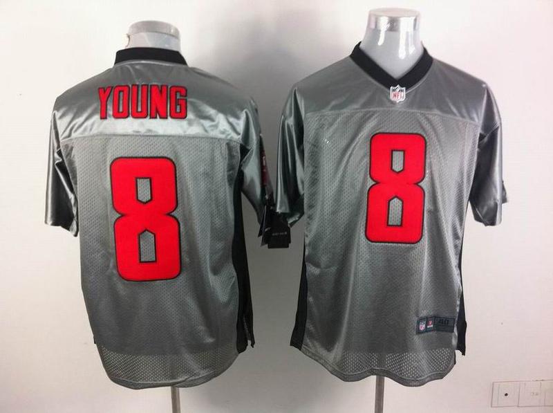 San Francisco 49ers 8 Steve Young Gray Shadow 2014 Jerseys