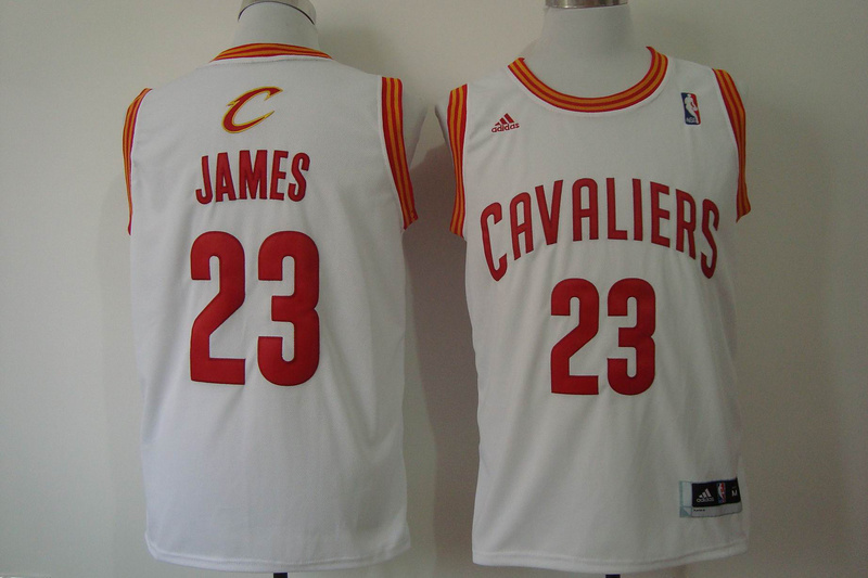 NBA Cleveland Cavaliers 23 James White 2014 Jerseys