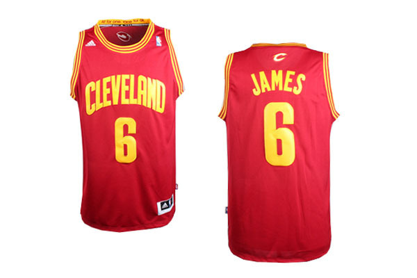 NBA Cleveland Cavaliers 6 Lebron James Red 2014 Jerseys