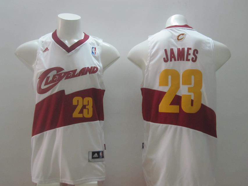 NBA Cleveland Cavaliers 23 James White Swingman 2014 Jerseys