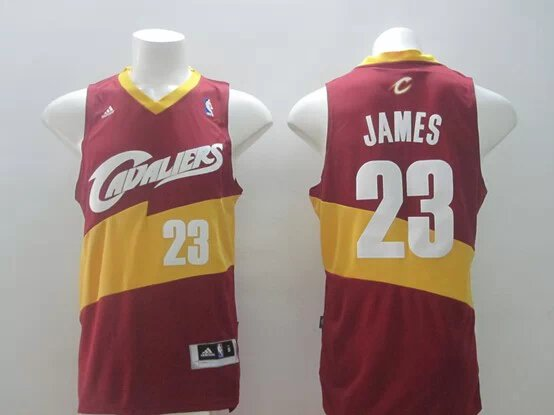 NBA Cleveland Cavaliers 23 James red Swingman 2014 Jerseys