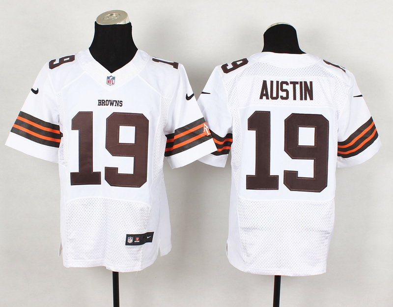 Cleveland Browns 19 Austin White Nike NFL 2014 Elite Jerseys