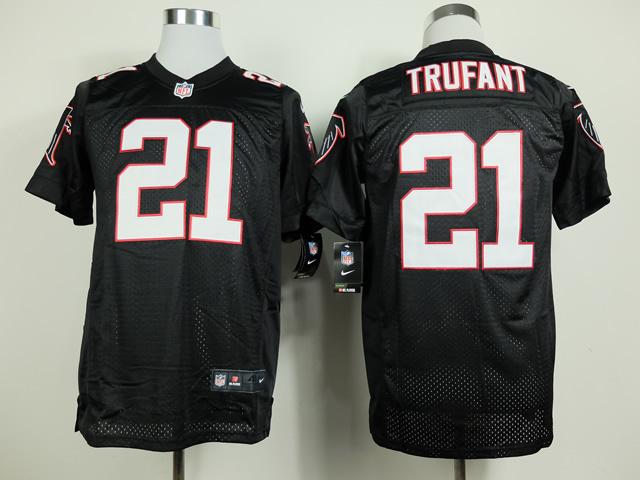 Atlanta Falcons 21 Trufant Black Nike Elite 2014 Jerseys