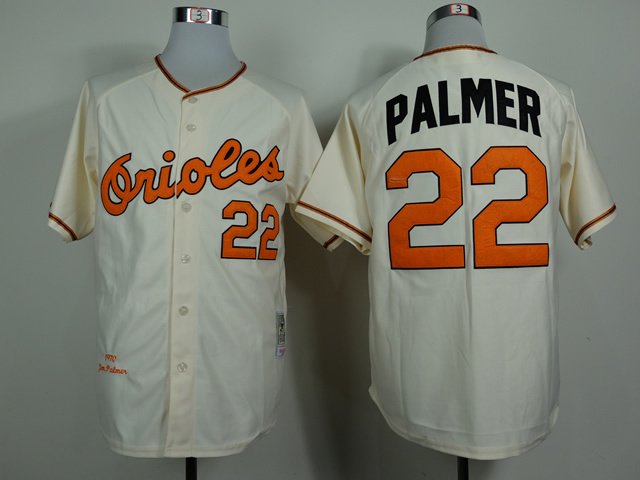 MLB Baltimore Orioles 22 Palmer Gream 1970 Jerseys