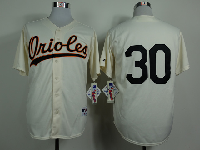 MLB Baltimore Orioles 30 Tillman Gream 1954 Turn The Clock Jersey